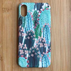 Accessories - NEW Iphone X Cactus Cacti Pattern Hard Case